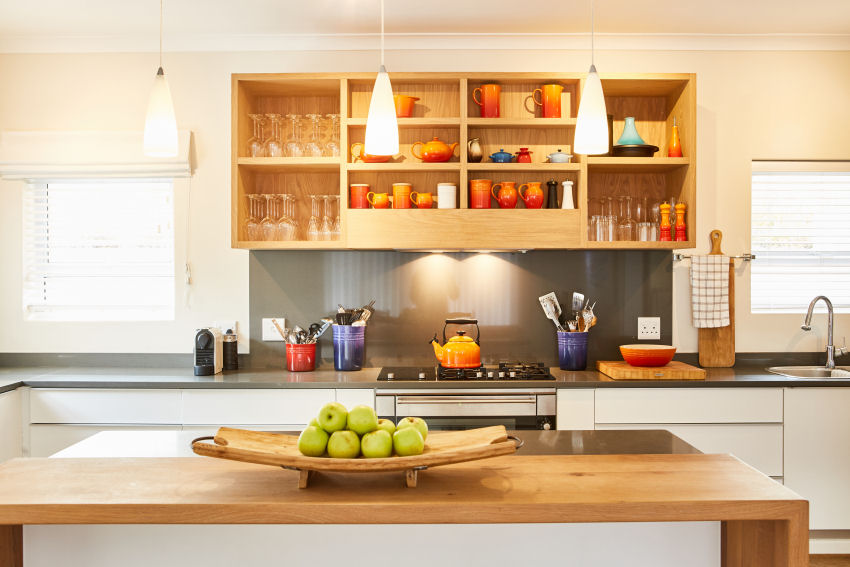 Number Eleven - the open-plan kitchen is fully stocked with Le Creuset cookware and crockery, in addition to all the standard appliances