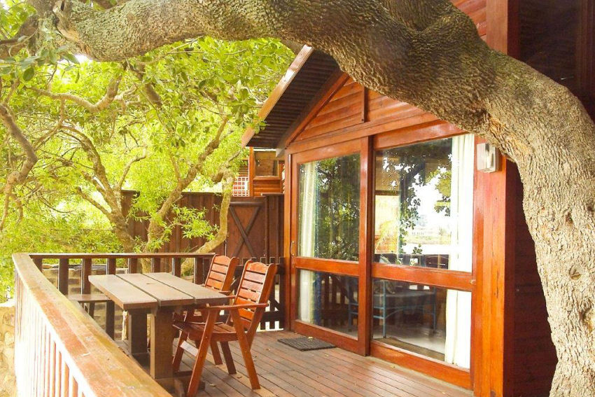 Under Milkwood: enjoy the morning light form your deck